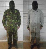 uniforme camo reversible ejto finlandés - foto