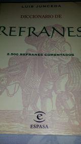 DICCIONARIO DE LOS REFRANES - foto