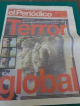 diario el periodico 12 septiembre 2001 - foto