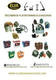 VENTA RECAMBIOS PLATAFORMAS ELEVADORAS - foto