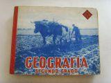 GEOGRAFIA, SEGUNDO GRADO, EDELVIVES, 1. 944.  - foto