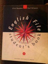LIBRO ENGLISH FILE  STUDENT S BOOK 1 - foto
