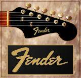 Decal FENDER Guitarra o Bajo electrico - foto