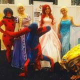 Animación payasos,princesas, castillos - foto