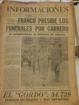 funeral luis carrero blanco - foto