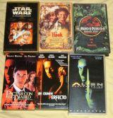 Cinco peliculas:Star wars, Alien.. - foto