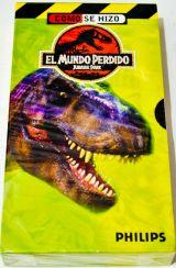 EL MUNDO PERDIDO ( COMO SE HIZO) VHS.