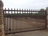 Puertas correderas en hierro económias - foto