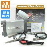 Osciloscopio para PC 2 canales 50 Mhz - foto