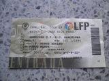 Entrada hercules-barcelona 1995 - foto