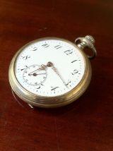 Antiguo reloj de bolsillo cuerda - foto