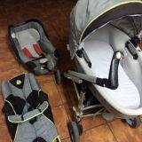 espectacular carro de bebés loola - foto