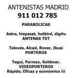 Antenistas Madrid LOW COST - foto