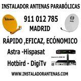 Antenistas Madrid - Antenas Parabólicas - foto
