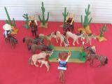 Playmobil diorama de vaqueros oeste (6) - foto