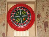 juego electro ruleta jugette antiguo. - foto
