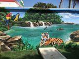 Graffiti artistico. Diseño arte - foto