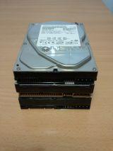 Lote de discos duros averiados - foto