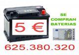 se compran baterias - foto