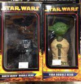 Star Wars pvc Darth Vader Yoda Cabezones - foto