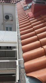 Canalones de zinc para edificios - foto