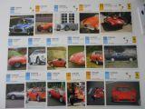 17 tarjetas autos de colección Ferrari - foto