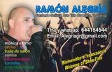 CANTANTE DÚO MUSICAL  RAMÓN ALEGRÍA - foto