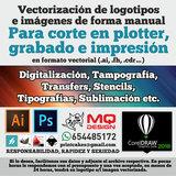 DISEÑADOR GRAFICO, vectorización, logos - foto