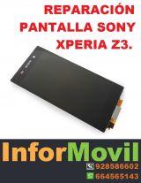 pantalla sony xperia z3 - foto