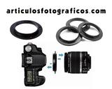 Anillo inversor Macro | Canon o Nikon - foto