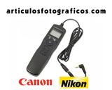Disparador Intervalometro | Cano o Nikon - foto