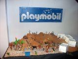 cartel de playmobil - foto