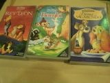 PELICULAS ORIGINALES VHS DISNEY