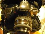 Minolta analogica 500 si  objetivo 35/70 - foto