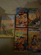 Lote de 5 películas de cuentos infantile - foto