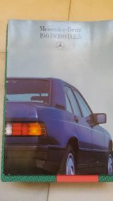 Catalogo mercedes 190 - foto