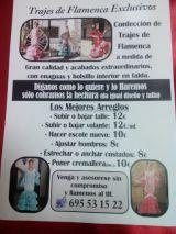 Arreglos de trajes de flamenca - foto