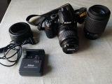 NIKON - D3000 18-55 y 55-200 - foto