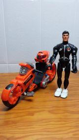 Action Man Moto Octane con Figura - foto