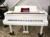Piano yamaha C3 Blanco, renovado. - foto