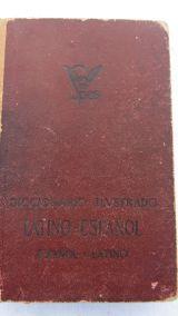 Diccionario  latino-español Spes 1949 - foto