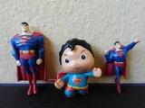 Lote 3 figuras superman pvc - foto