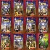 12 Figuras Star Wars Saga Collection - foto