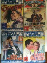 revistas  novelas antiguas - foto