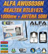 Alfa awus036h 1000mw OFERTA X CIERRE - foto