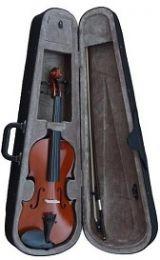 Violin 1/2 con funda, arco y resina. - foto