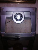 Base refrigeradora con ventilador para p - foto