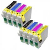 Pack tinta compatible epson 1281/1284 - foto