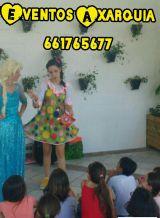 Payasos,princesa superheroes, cumpleaños - foto