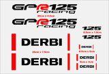 KIT  DERBI GPR 125 O DERBI GPR 50 - foto